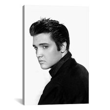 Elvis Presley in the 50's Photographic Print on Canvas