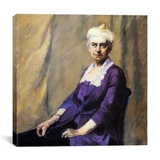 """Elizabeth Griffiths Smith Hopper, the Artists Mother"" Canvas Wall Art by Edward Hopper"