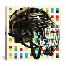 Canada Hockey Mask Graphic Art on Canvas