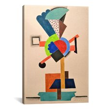 'Composition Cubiste' by Auguste Herbin Painting Print on Canvas