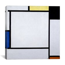 """Composition ll, 1922"" Canvas Wall Art by Piet Mondrian"