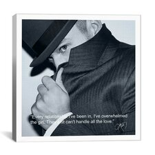 Justin Timberlake Quote Canvas Wall Art