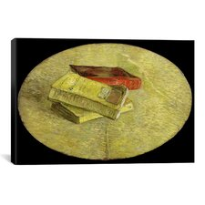 'Drie boeken (Three Books)' by Vincent Van Gogh Painting Print on Canvas