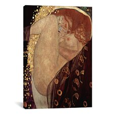 'Danae' by Gustav Klimt Painting Print on Canvas