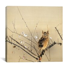 Early Plum Blossoms Canvas Wall Art by Nishimura Goun