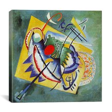 'Red Oval' by Wassily Kandinsky Painting Print on Canvas