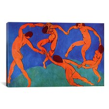 'Dance (II)' 1910 by Henri Matisse Graphic Art on Canvas