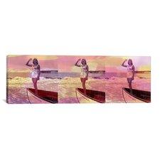 Miss America Competition 1958 Panoramic Memorabilia on Canvas