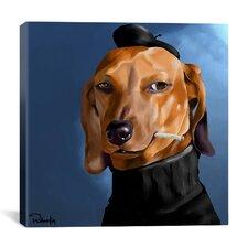 'Dach Cool_001' by Brian Rubenacker Graphic Art on Canvas