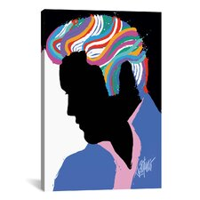 Elvis Presley E. Slide B. Graphic Art on Canvas