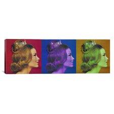 Miss America Competition 1966 Pop Panoramic Memorabilia Art on Canvas