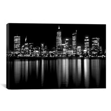 Downtown City Photographic Print on Canvas