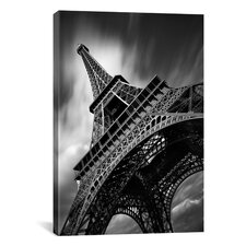 Eiffel Tower Study II by Moises Levy Photographic Print on Canvas