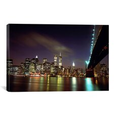 Downtown New York Photographic Print on Canvas