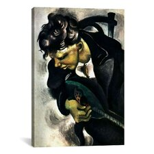'David 1914' by Marc Chagall Painting Print on Canvas