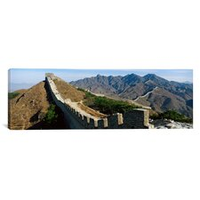 Panoramic Great Wall of China Photographic Print on Canvas