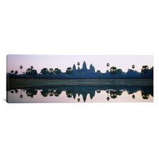 Panoramic Angkor Wat, Cambodia Photographic Print on Canvas