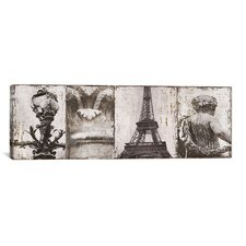 'Details from Paris I' by Pela and Silverman Photographic Print  on Canvas