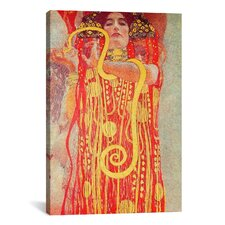 'Klimt Medicine' by Gustav Klimt Painting Print on Canvas