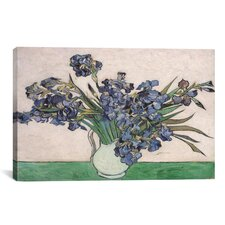 'Irises 1890' by Vincent Van Gogh Painting Print on Canvas
