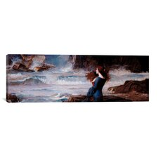 'Miranda, the Tempest' by John William Waterhouse Painting Print on Canvas