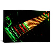 Funky Guitar Photographic Print on Canvas