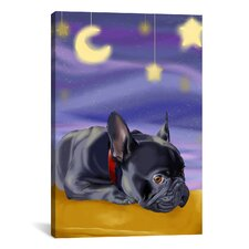 'French Sleep' by Brian Rubenacker Graphic Art on Canvas