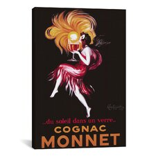 'Cognac Monnet' by Leonetto Cappiello Vintage Advertisement on Canvas