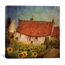 """Gardenhouse Chenonceau"" Canvas Wall Art by Dawne Polis"