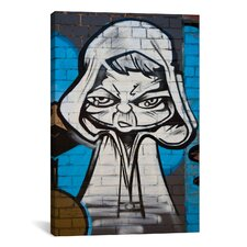 Street Art Grimm Painting Print on Canvas
