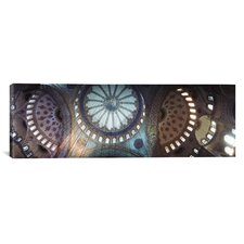 Panoramic Blue Mosque, Istanbul, Turkey Photographic Print on Canvas