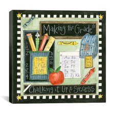 """Making the Grade"" Canvas Wall Art by Pat Yuille"