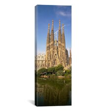 Panoramic Sagrada Familia, Barcelona, Spain Photographic Print on Canvas