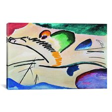 'Lyrically (Lyrisches)' by Wassily Kandinsky Graphic Art on Canvas
