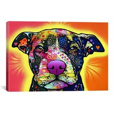 'Love a Bull' by Dean Russo Graphic Art on Canvas