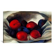 'Plums' by Georgia O'Keeffe Painting Print on Canvas