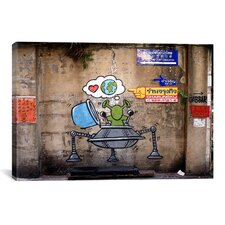 Street Art Love Earth Graffiti Graphic Art on Canvas
