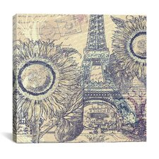 """Paris Pastiche II"" Canvas Wall Art by Mindy Sommers"