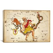 'Ophiuchus, 1825' by Sidney Hall Graphic Art on Canvas