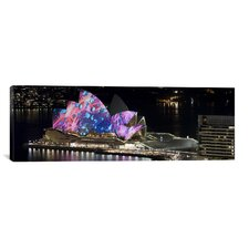 Panoramic 'Sydney Opera House, Sydney, Australia' Photographic Print on Canvas