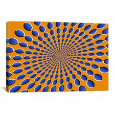 'Optical Illusions' by Michael Tompsett Graphic Art on Canvas