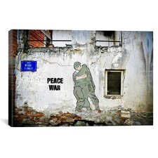 """""""Peace War"""" by Luz Graphics Graphic Art on Canvas"""