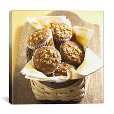 Muffin Basket Photographic Canvas Wall Art