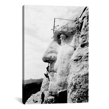 Architecture / Photography 'Mount Rushmore' Photographic Print on Canvas