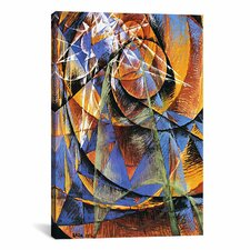 'Planet Mercury passing in front of the Sun' by Giacomo Balla Painting Print on Canvas