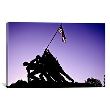 Architecture/Photography 'World War II Iwo Jima Memorial' Photographic Print on Canvas