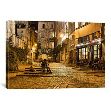 """Night Mood"" by Sebastien Lory Painting Print on Canvas"