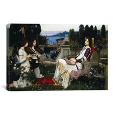 'Saint Cecilia' by John William Waterhouse Painting Print on Canvas