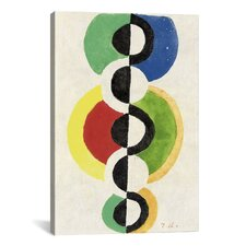 'Rythme' by Robert Delaunay Painting Print on Canvas
