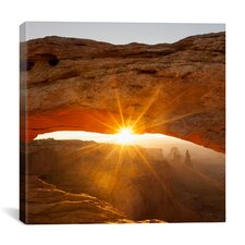 """Mesa Arch Beauty  #2"" Canvas Wall Art by Dan Ballard"
